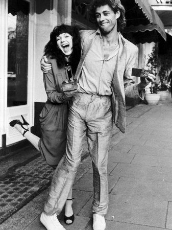 Bob Geldof and Kate Bush Both Collected the Award for Best Single
