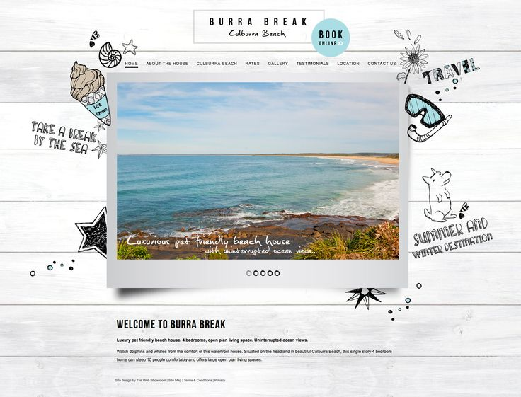 'Tis the season to be jolly and the holiday season is only a few months away, we were lucky to build a new site for this great holiday home, position on the headland in beautiful Culburra Beach. Feel free to book you're Burra Break today!   http://www.burrabreak.com.au/