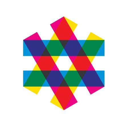 """""""Equality"""" logo for the Zagreb Jewish Film Festival by Mirko Ilic"""
