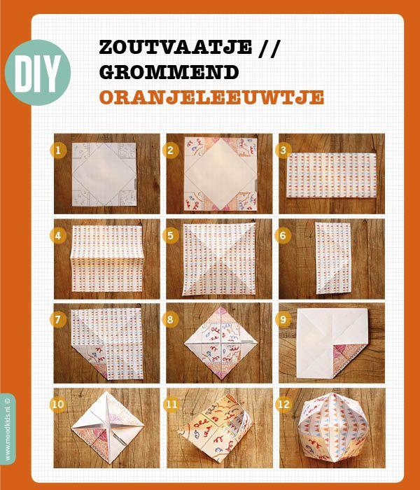 DIY - Oranje Leeuw voor Koninginnedag - Moodkids