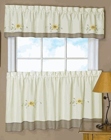 92 best Cafe Tier Curtains images on Pinterest