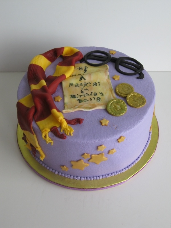 Back To Post Harry Potter Birthday Cake With Magical Word