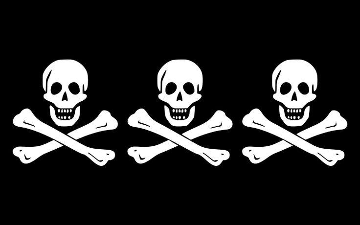 Flag of Christopher Condent - Pavillons pirates et corsaires — Wikipédia