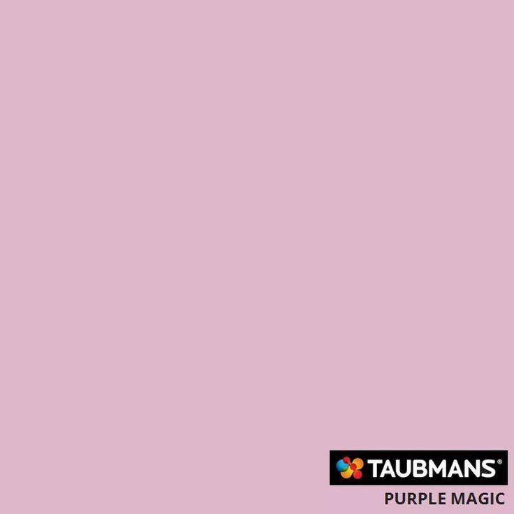#Taubmanscolour #purplemagic