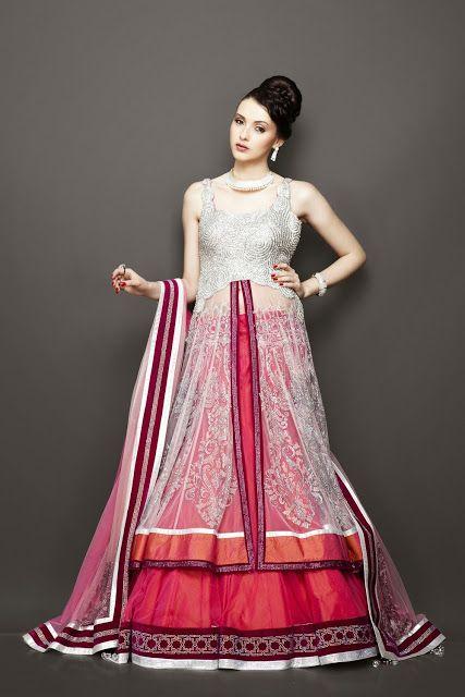 Best Wedding Bridesmaid Lehenga Outfits 2014 - Vega Fashion Mom