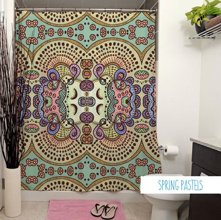 1000+ ideas about bad vorhang on pinterest | shower curtains, Hause ideen