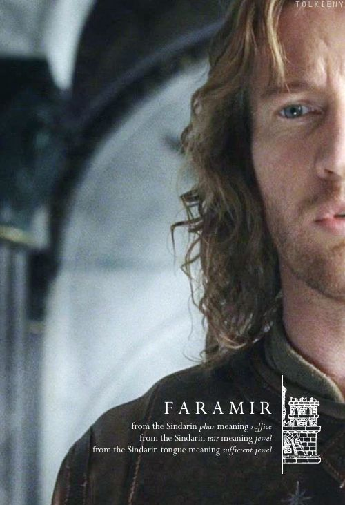 the meaning of Faramir