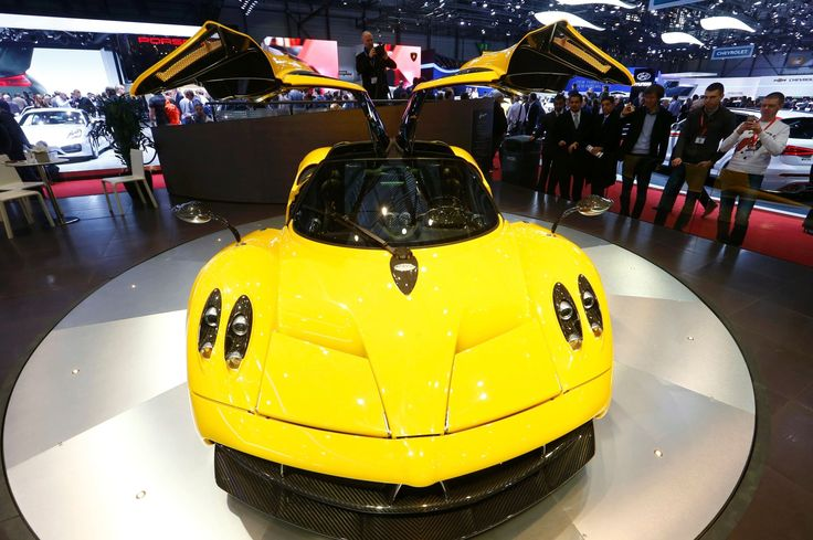 Pagani Huayra       Every detail of this car is crafted for speed and luxury. With its twin-turbo, V12 engine by Mercedes-AMG, it cracks 60 mph in 3.2 seconds. It tops out at 230 mph.   Estimated Price: US $1,400,000