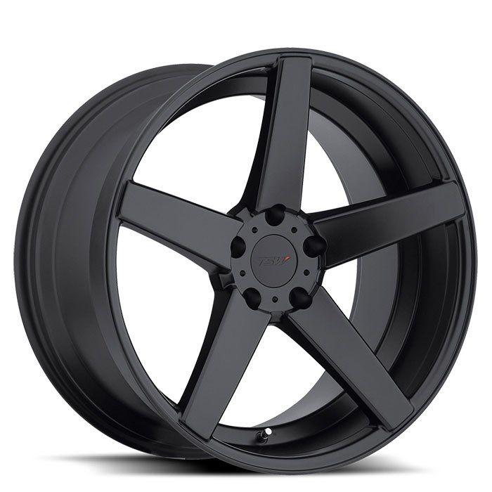GetYourWheels.com: TSW Wheels TSW Sochi Matte Black Wheels : Wheel and Tire Packages|Staggered Wheels|Custom Wheels|Luxury Rims