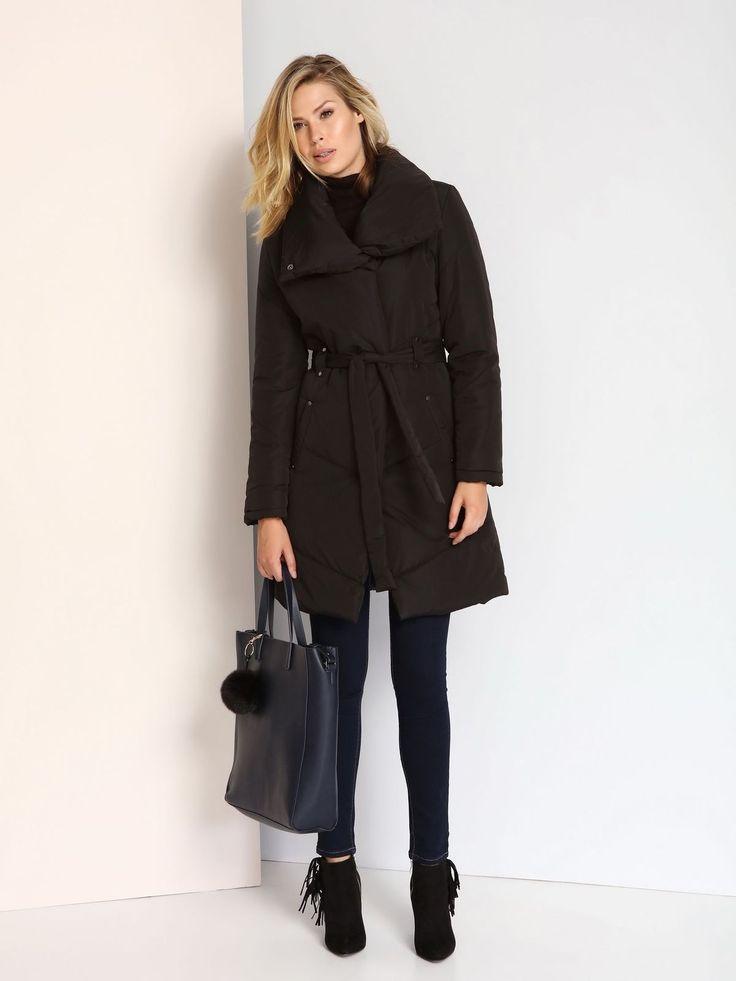 Palton Top Secret SPZ0332 Black