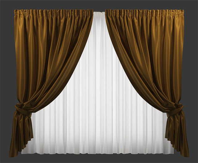 Making Curtains With Cloth Modifier