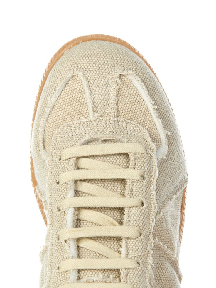 Replica canvas low-top trainers | Maison Margiela | MATCHESFASHION.COM