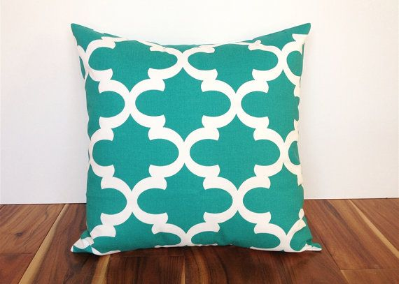 Jade Green Decorative Throw Pillow Cover. 16 X by thebluebirdshop, $16.00