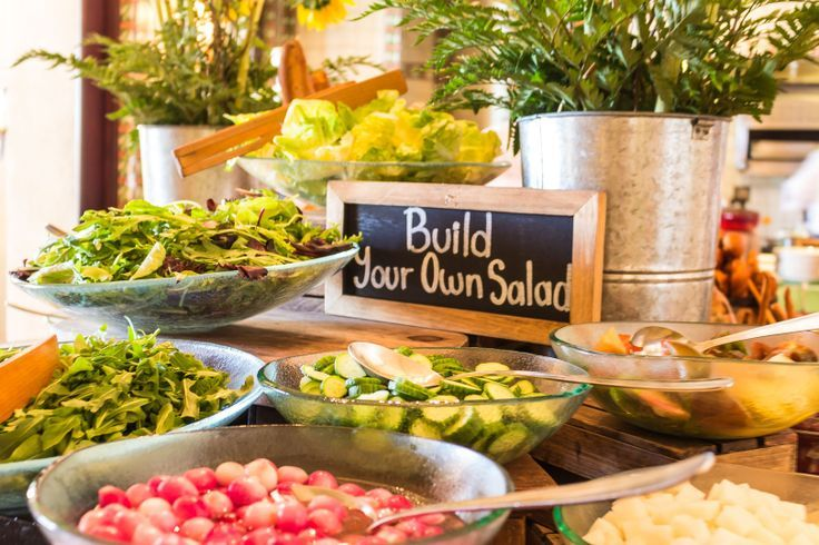 25 best ideas about salad bar on pinterest salad for Salas ideas