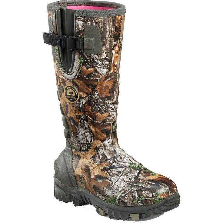 Irish Setter Women's Rutmaster 2.0 1200g Realtree Xtra Waterproof Field Hunting Boots, Size: 11