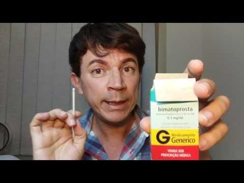Um colírio que faz crescer sobrancelhas - YouTube