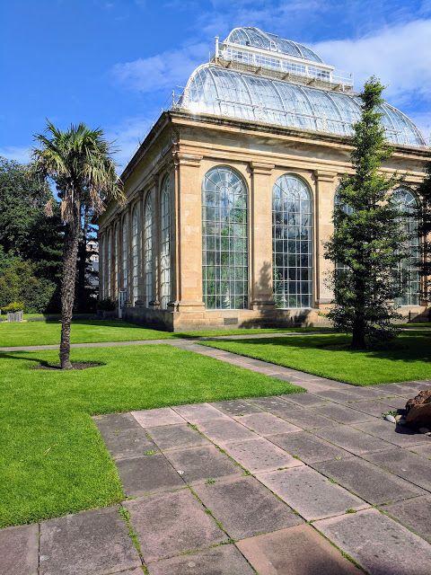 Glasshouses at the Royal Botanic Garden Edinburgh
