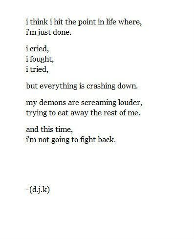 My Life Is Slowly Falling Apart Quotes Falling Apart Quotes