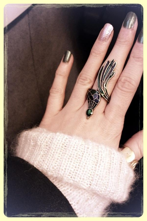 I 39 M In Love With This Peacock Ring Etc Pinterest
