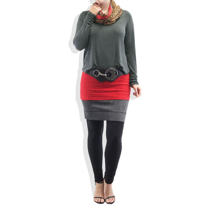 Woolly Leatherette Ruched Top #catwalk