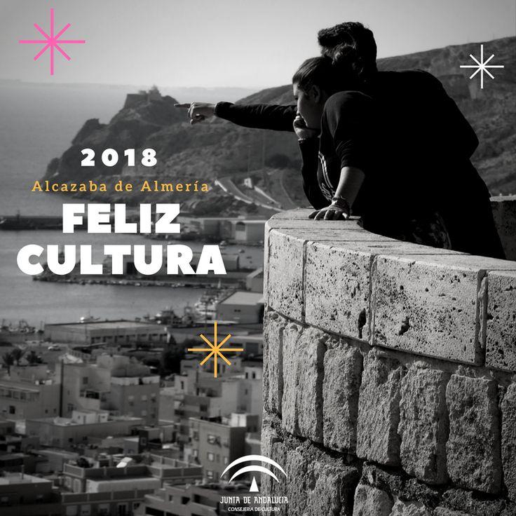 #FelicesFiestas  El equipo humano que compone el Conjunto Monumental de la Alcazaba de Almería queremos daros las gracias por estar ahí día tras día siendo nuestros cómplices, y mayor motivación. Además, desearos unas felices fiestas, y un próspero 2018 cargado de muchísima #Cultura. Abrazos y carantoñas varias. Sean felices. 😉📽️🎭📚🎉  #FelizCultura2018