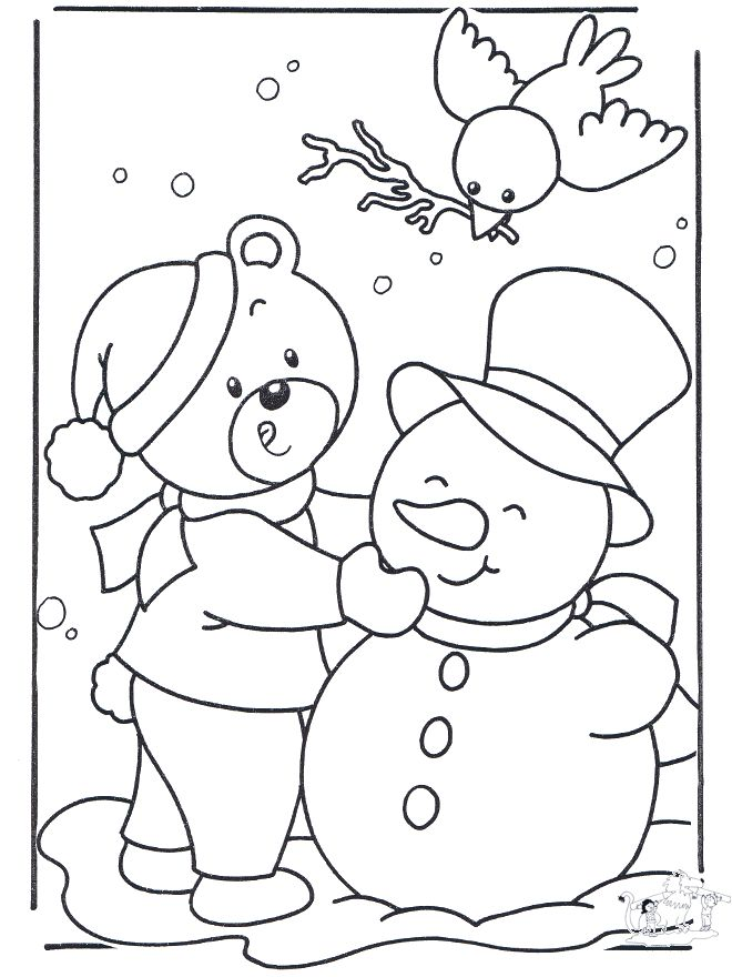 22 best images about Winter on Pinterest - best of coloring pages fall and winter