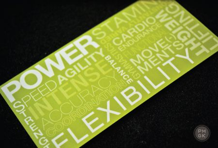 Cross Fit #BusinessCard...will be my workout regime soon