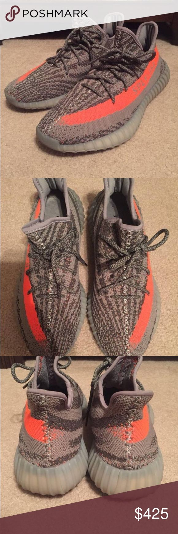 "Yeezy V2 ""Belugas"" Sz9 EXCELLENT condition, very comfortable shoe price negotiable. Yeezy Shoes Sneakers"