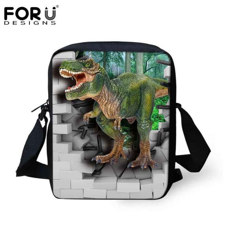 FORUDESIGNS Cool Animal Dinosaur Printing School Bag For Baby Boys Kids Casual Book Bags For School Children Schoolbag Mochila