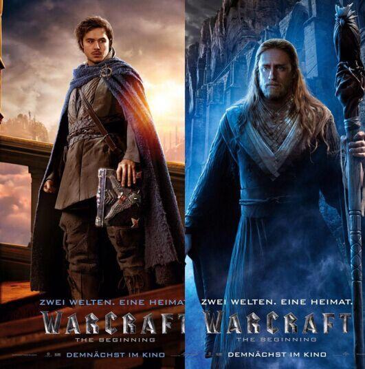 KHADGAR and MEDIVH - Warcraft Movie. - Raiditem.com