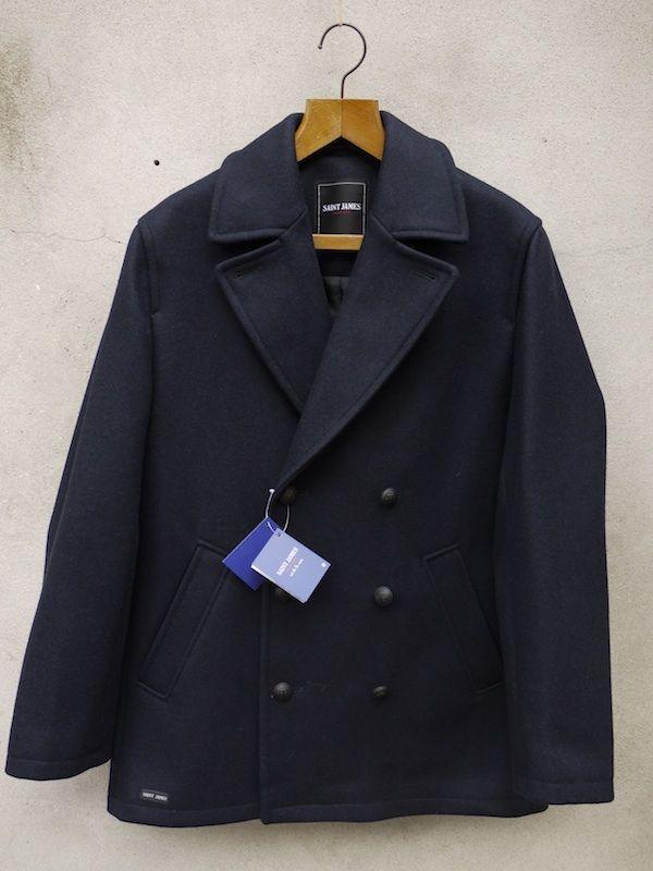 Pea Coat (Navy) | Pavois
