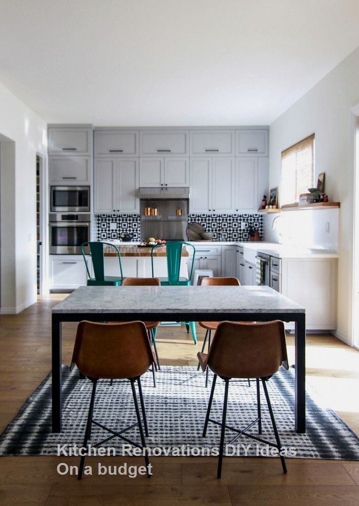 New DIY Kitchen Renovations and Makeovers Ideas on a Budget