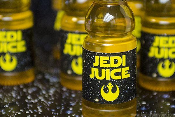 Jedi Juice Star Wars Party Food #AwakenYourTastebuds AD