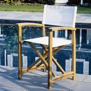 Capri Director's Chair (White)