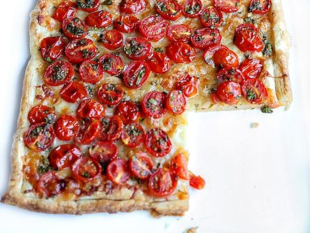 Cherry Tomato Puff Pastry Tart | Tasty Kitchen: A Happy Recipe Community!