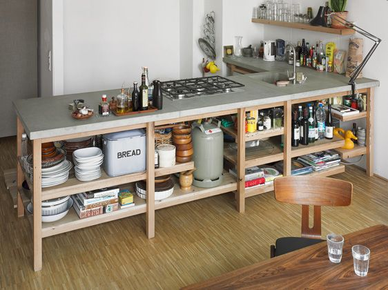 Rainer Spehl Concrete & Oak Kitchen | Sumally