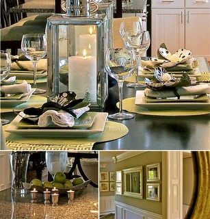 South Shore Decorating Design Business: select projects    Genevieve Gorder LOVES green dining rooms and so do I!