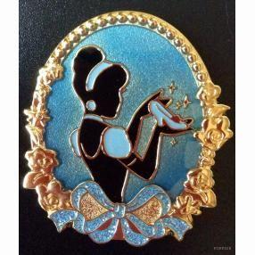 Walt Disney Pins, Trading Disney Pins, Value Of Disney Pins | PinPics Cinderella Silhouette Tokyo Disney