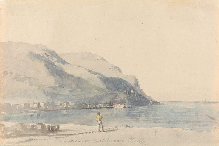 Johan Christian Dahl, Stranden ved Castellammare – Nasjonalmuseet – Samlingen