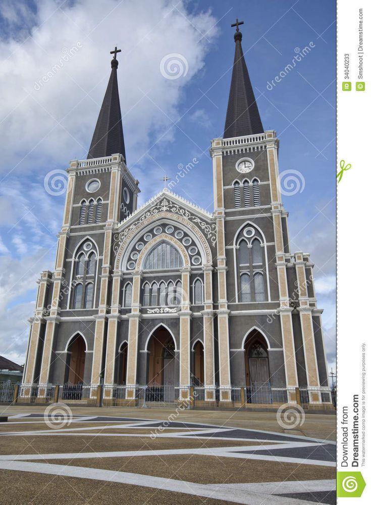 Most Beautiful Churches | The Most beautiful Catholic Church, Chanthaburi province, Thailand