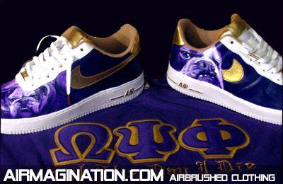 Omega Psi Phi shoes