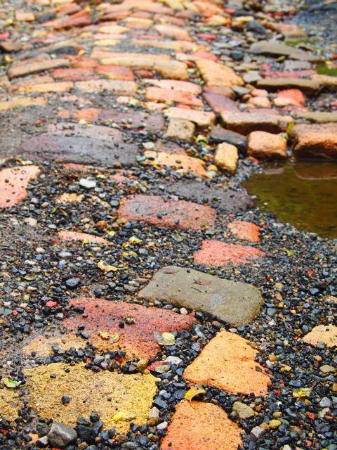 [   ][ ]: Brick Paths, Color Palettes, Landscape Colors, Colors Palettes, Brick Street, Colors Roads, Colors Paths, Brick Roads, Bright Brick