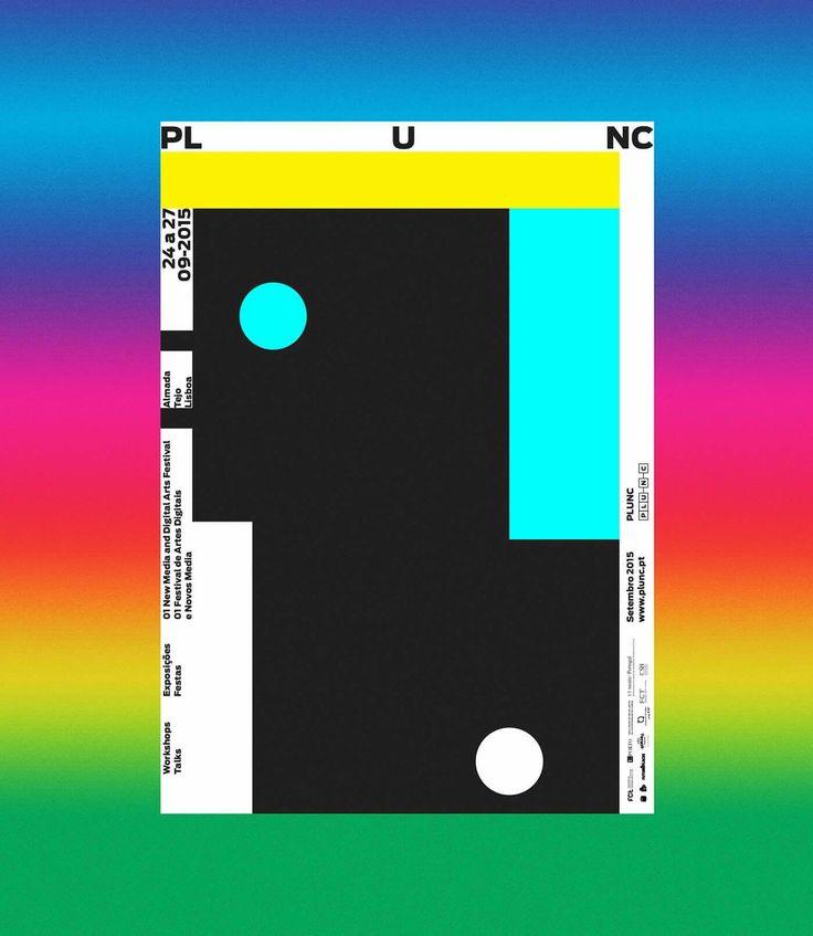 오늘은 Royal Studio의 PLUNC #01 을 소개하려고 해요! 리스본의 멀티미디어 페스티벌의 첫번째 이벤트 비주얼 아이덴티티 작업인데요, 자세한 사항은 아래의 링크에서 확인하세요!  https://www.behance.net/gallery/38327085/PLUNC-01