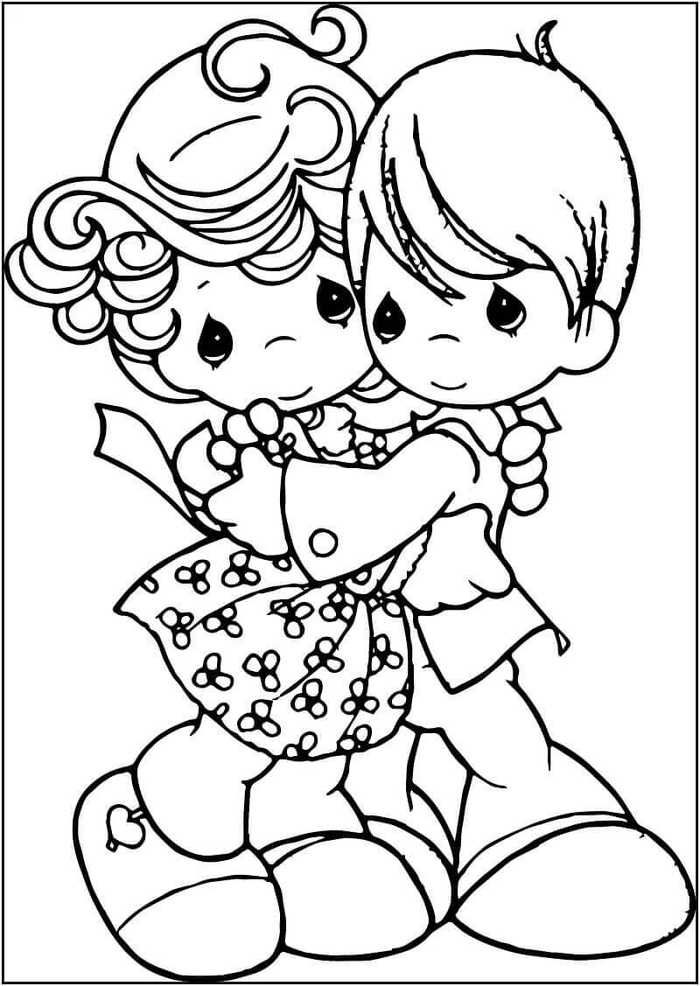 January Coloring Pages Printable Precious Moments Coloring Pages
