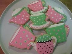 Cute tea cup cookies