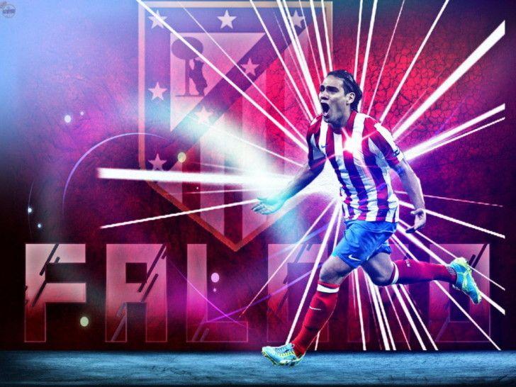 Atletico Madrid Wallpapers: Atletico Madrid Radamel Falcao Bright ~ celwall.com Football Wallpapers Inspiration