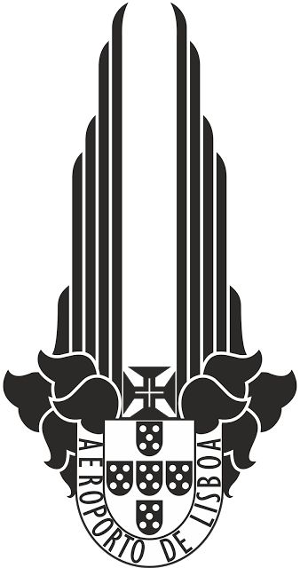Distintivo de Serviço da Polícia do Aeroporto de Lisboa 1945
