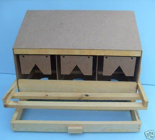 Legenest-Huehnernest-Legenester-3-tlg-Unterteil-mit-geradem-Dach-mit-Matten