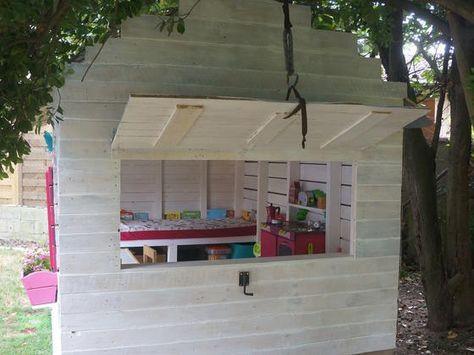 Cabane pour enfant en palettes 6m² Instructions de montage Do-it-yourself Do-it-yourself