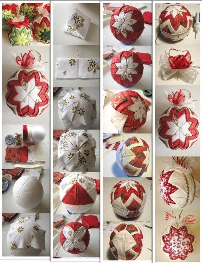 M s de 1000 ideas sobre como hacer esferas navide as en - Adornos navidenos elegantes ...